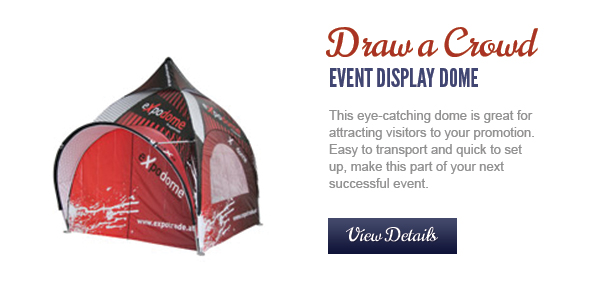 Event Display Dome for Trade Shows & Conferences   DiPuma Promotional
