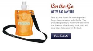 Wattle Bottle Lanyard   Custom Logo - Promotional Marketing