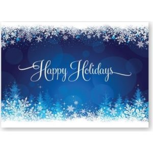 holiday cards promotional products